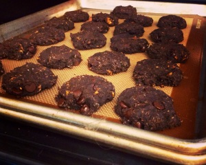 Double Chocolate Plaintain Cookies