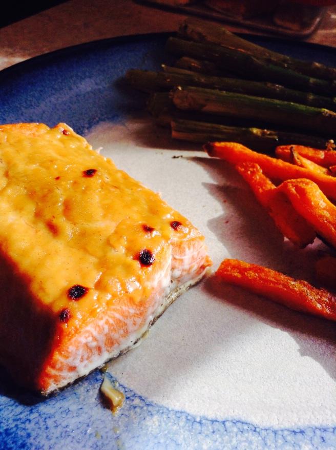 Everyday Detox Maple Mustard Salmon