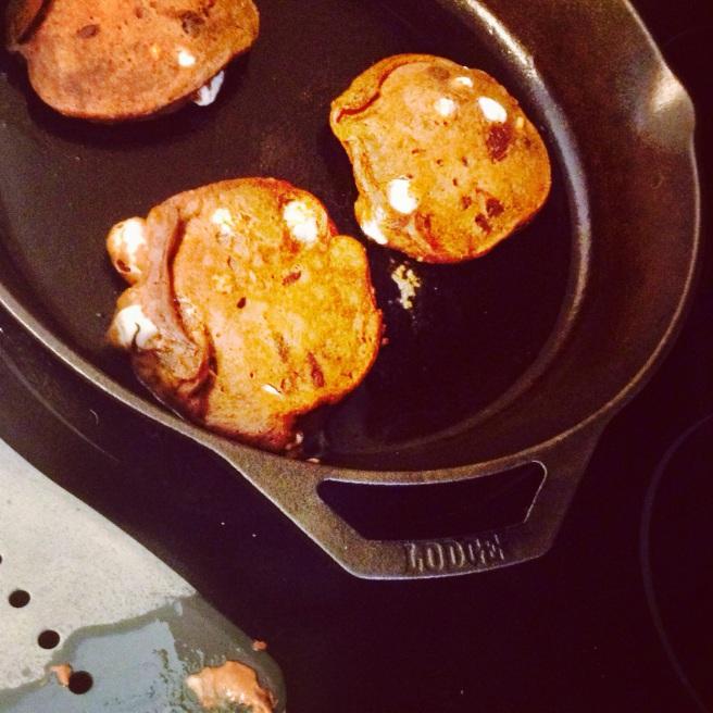 smores pancakes