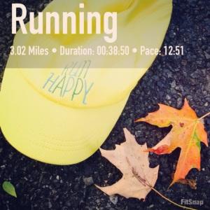 Sunny run happy hat
