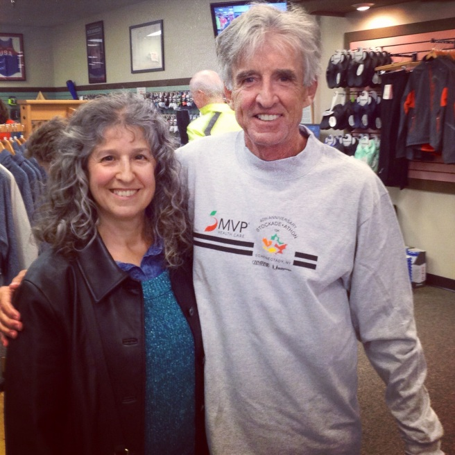 Running fairy dust from Frank Shorter