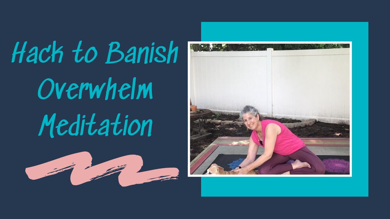 GWY Turn Overwhelm into Gratitude MeditationMeditation
